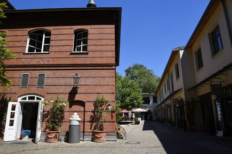 Das Hackesche Hofe in Berlin Capital-Stadt von Deutschland lizenzfreie stockfotografie