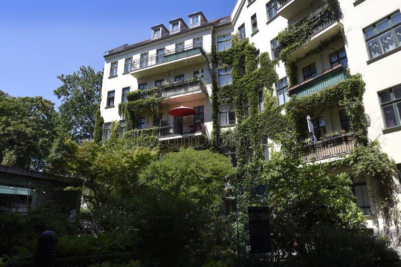 Das Hackesche Hofe in Berlin Capital-Stadt von Deutschland stockfoto