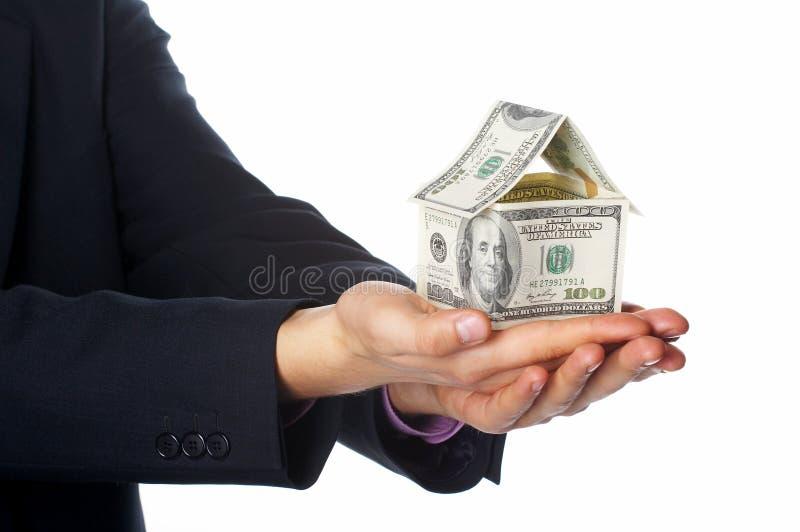 Das Hausgeld lizenzfreies stockbild