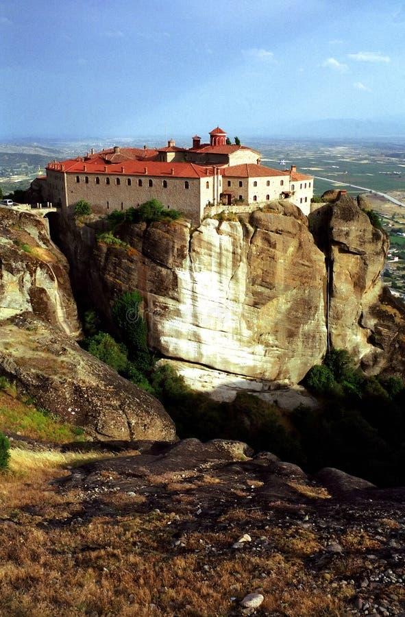 Das heilige Kloster von Str. Stephen stockfotos