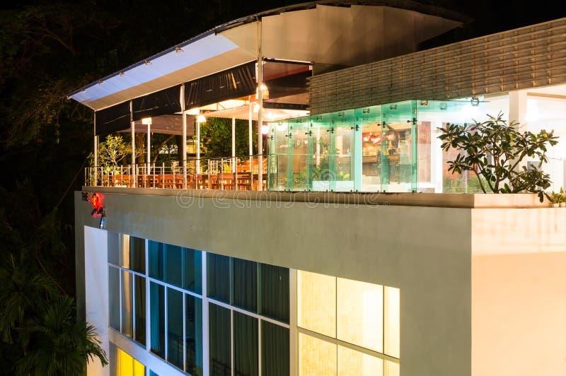 Das Himmel-Hotel Phuket - Dach-Spitzenrestaurant lizenzfreies stockbild