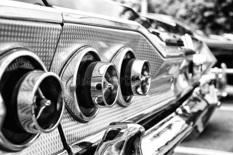 Das hintere Bremslichter Auto Chevrolet Impala SS konvertierbar stockfotos