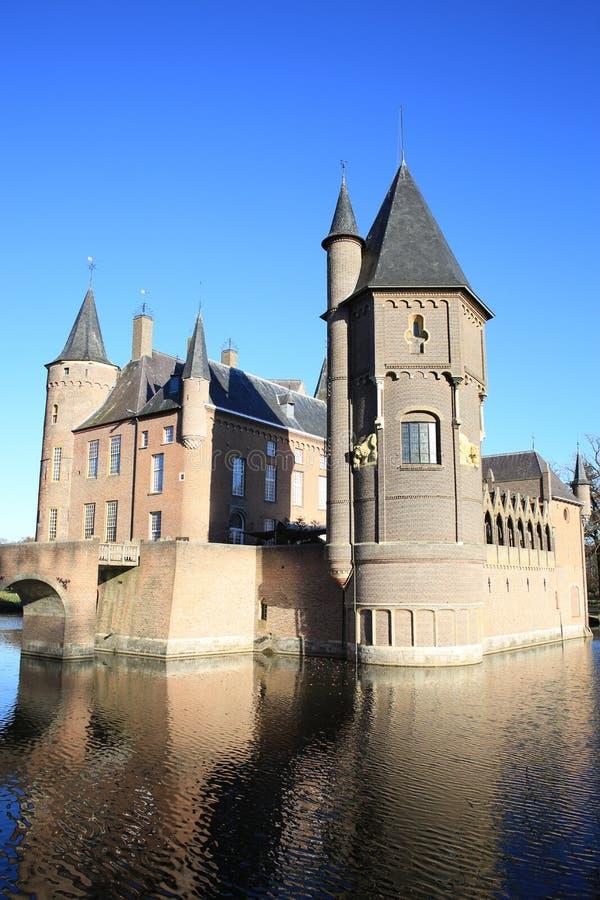 Das historische Schloss Heeswijk, die Niederlande lizenzfreies stockbild
