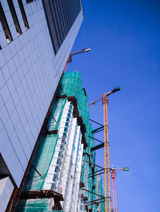 Das hohe Gebäude stockfotografie