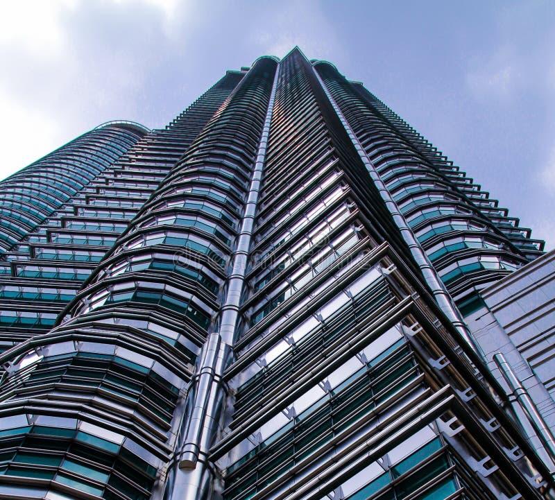 Das hohe Gebäude lizenzfreie stockbilder