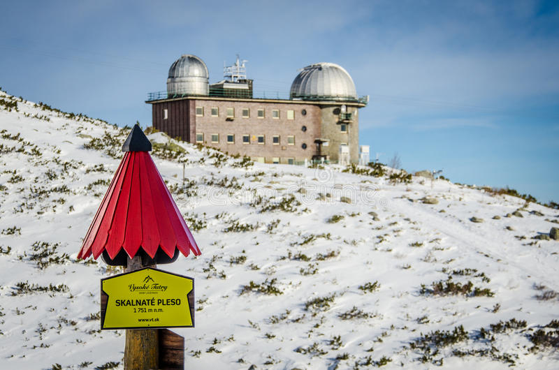 Das hohe Tatras, Slowakei lizenzfreie stockbilder