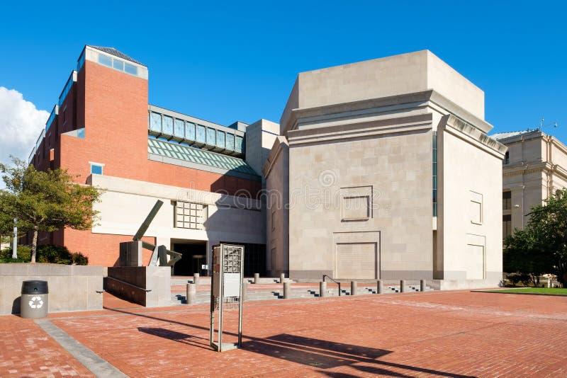 Das Holocaust-Erinnerungsmuseum Vereinigter Staaten in Washington lizenzfreies stockbild