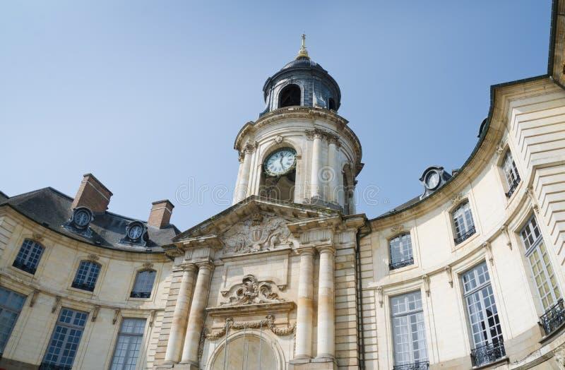 Das Hotel de Ville, Rennes lizenzfreies stockbild