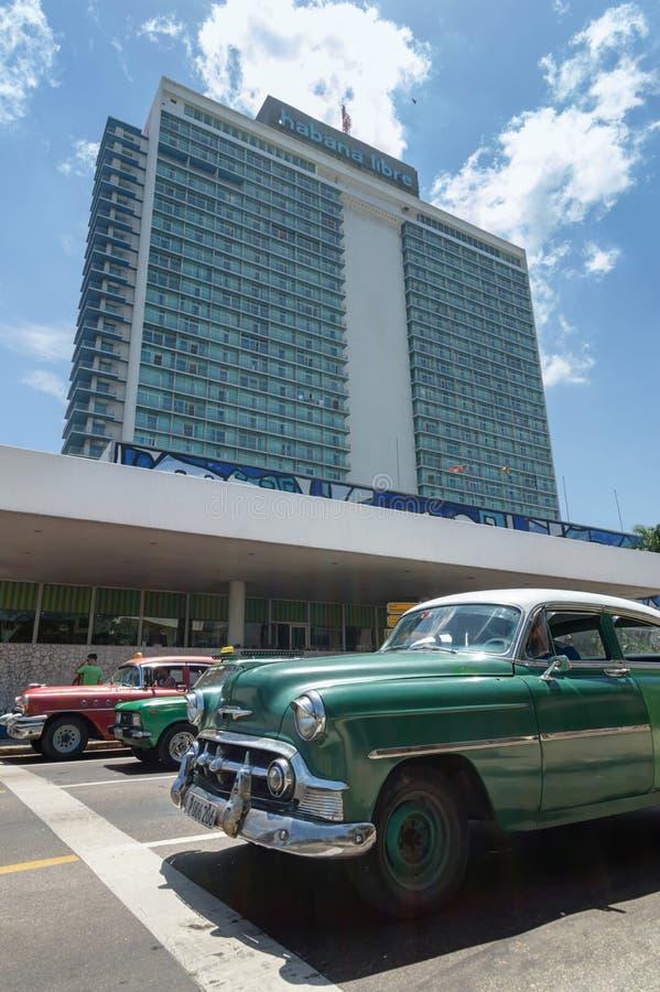 Das Hotel Habana Libre in Kuba lizenzfreie stockfotografie