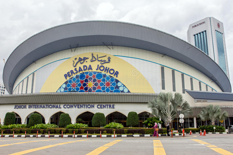 Das internationale Konferenzzentrum Persada Johor lizenzfreie stockfotos