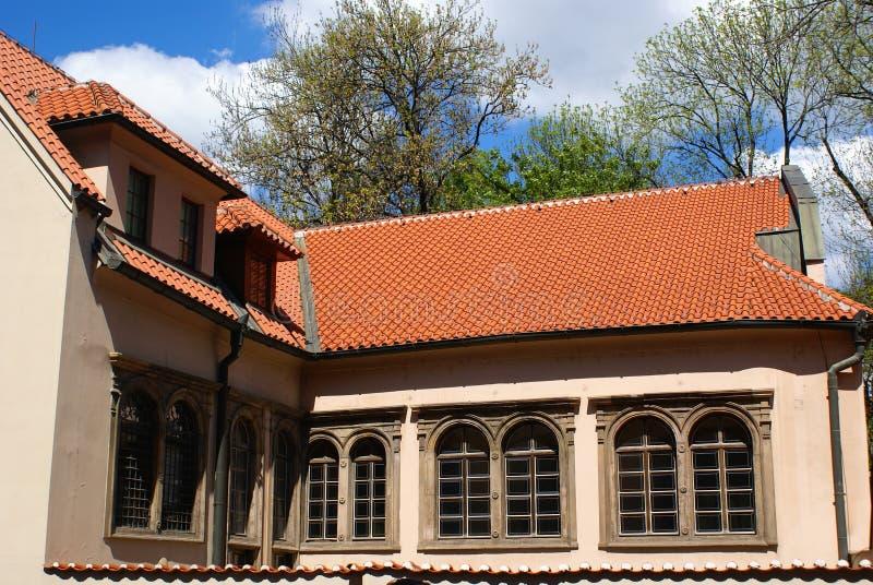 Das jüdische Museum in Prag stockbild