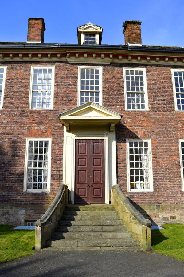 Das 15 Jahrhundert historischer Foxdenton Hall in Chadderton größeres Manchester lizenzfreies stockbild