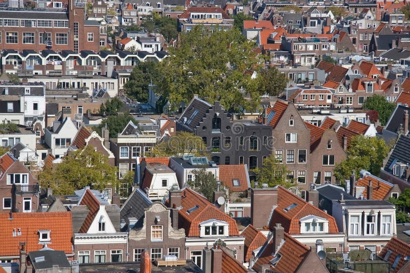 Das Jordaan Amsterdam lizenzfreies stockfoto
