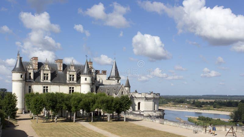 Das königliche Chateau in Amboise lizenzfreies stockfoto