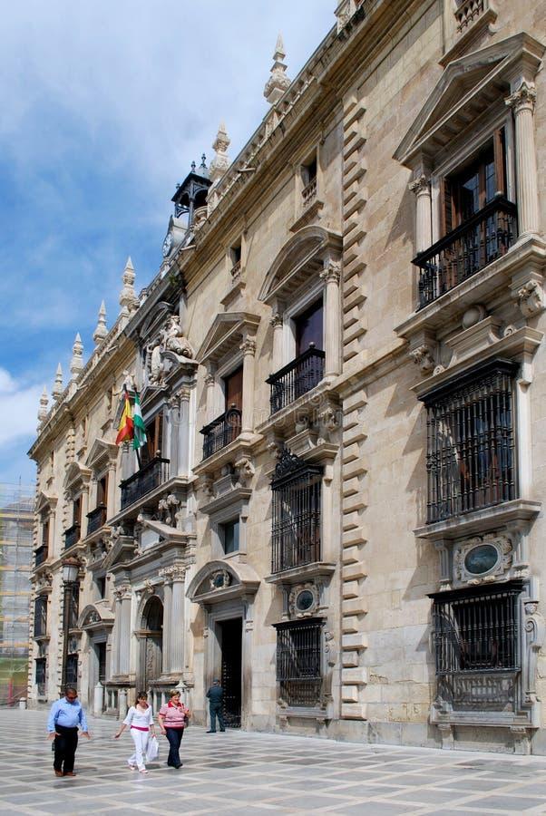 Das königliche Kanzleigericht, Granada lizenzfreie stockfotografie