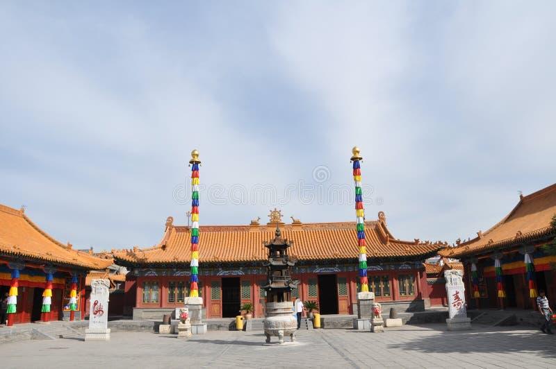 Das königliche Kloster stockbild