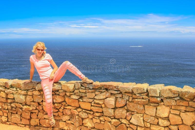 Das Kap der Guten Hoffnung Tourismus stockbild