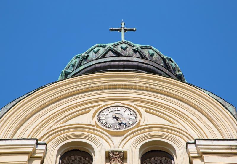 Das Kathedrale St. Dimitar, Vidin lizenzfreies stockbild