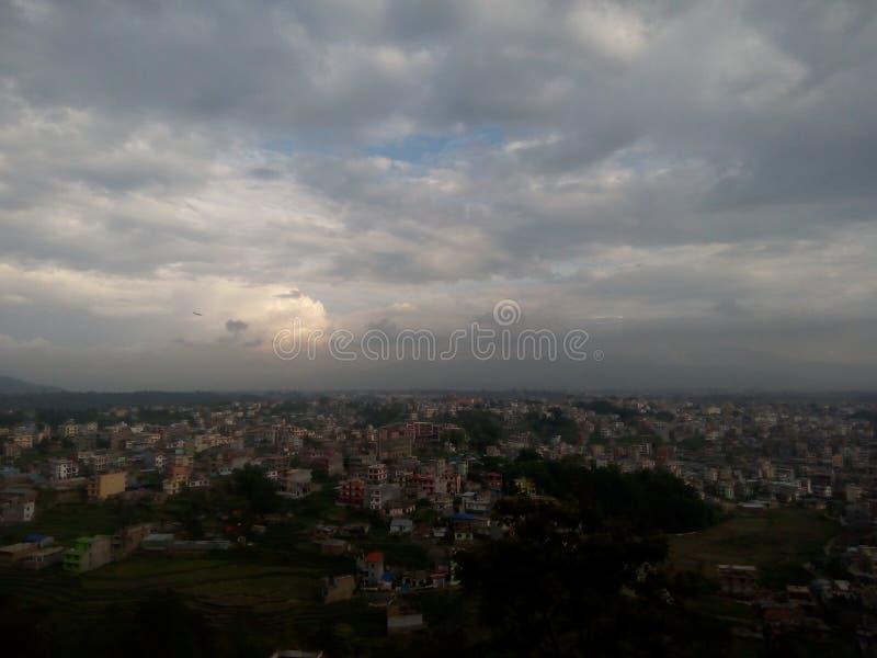 Das Kathmandutal stockbilder