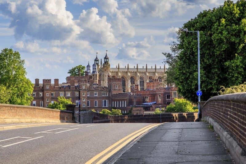 Das King's-College unserer Dame von Eton stockfotos