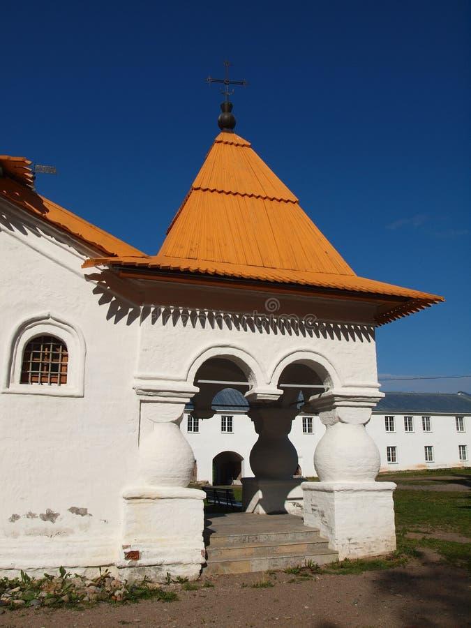 Das Kloster heilige Dreiheit-Alexander-Svirsky stockfoto