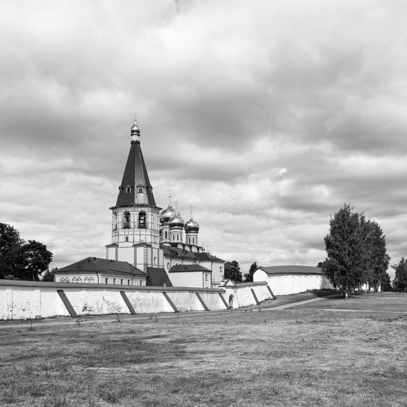 Das Kloster Valdai Iversky Bogoroditsky Svyatoozersky lizenzfreie stockfotos