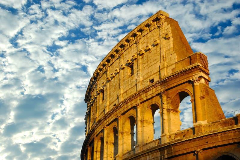 Das Kolosseum in Rom, Italien lizenzfreie stockfotografie