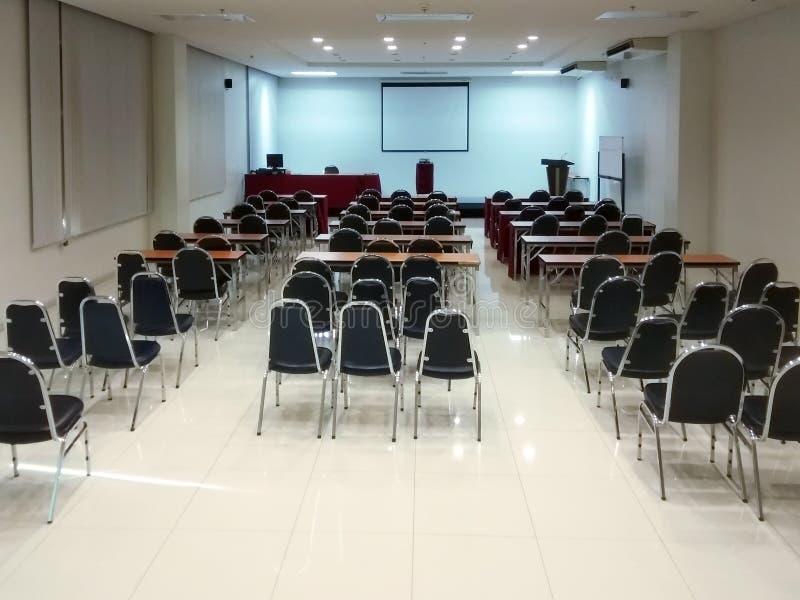 Das Konferenzzimmer stockbilder