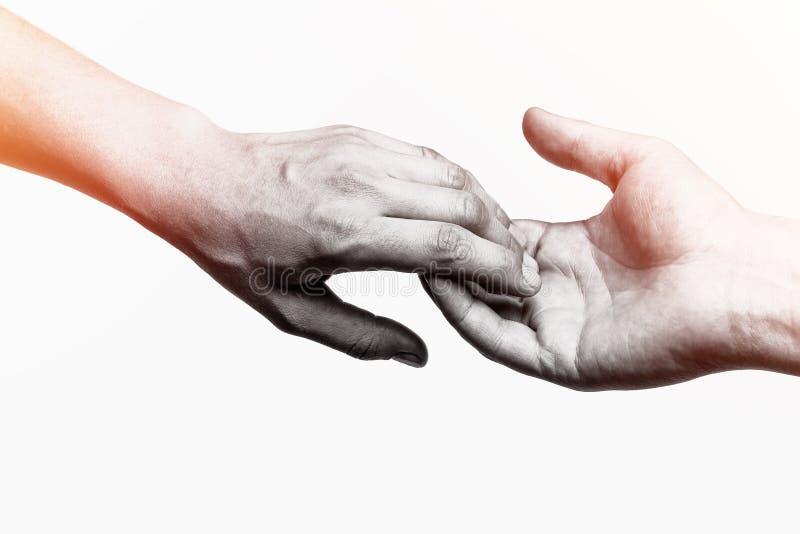 Das Konzept des Brechens von Beziehungen stockbild