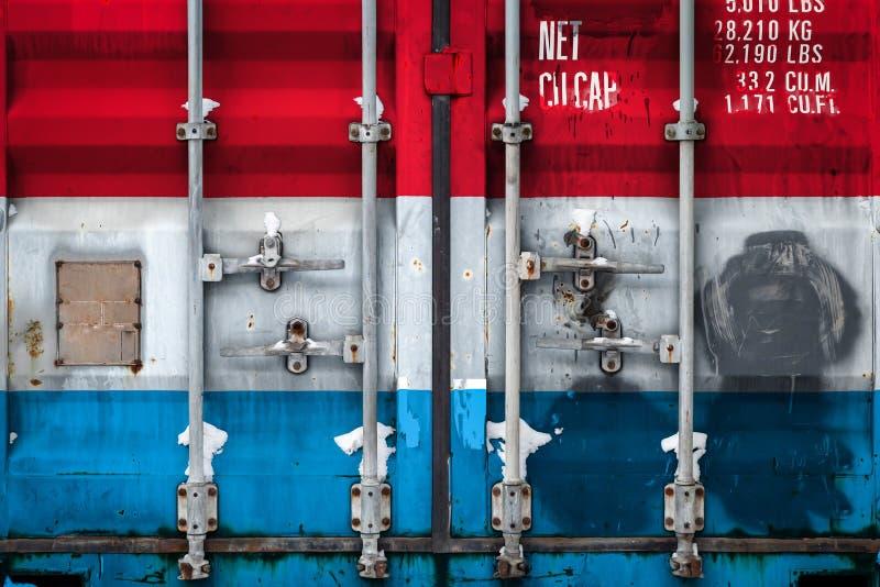Das Konzept des Exportimportes und nationale Lieferung von Waren vektor abbildung