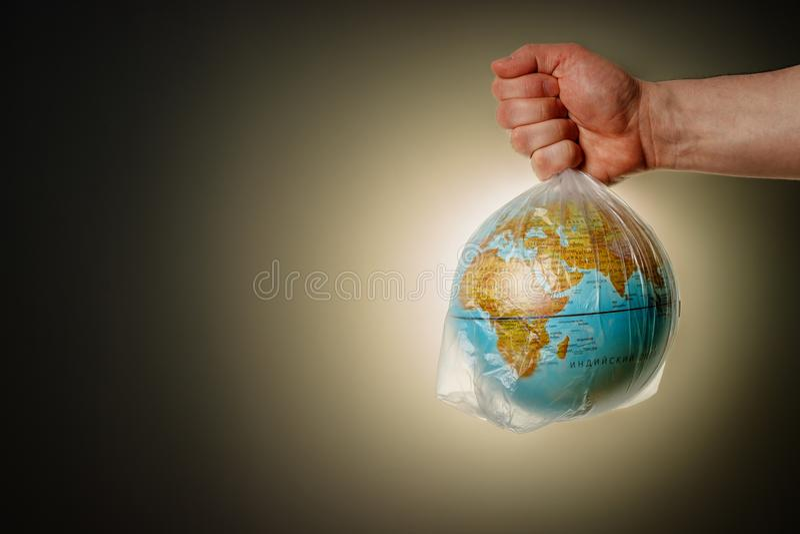 Das Konzept des Tages der Erde lizenzfreies stockfoto