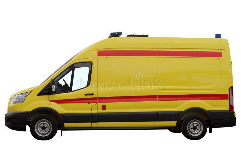 Das Krankenwagenauto lizenzfreies stockfoto