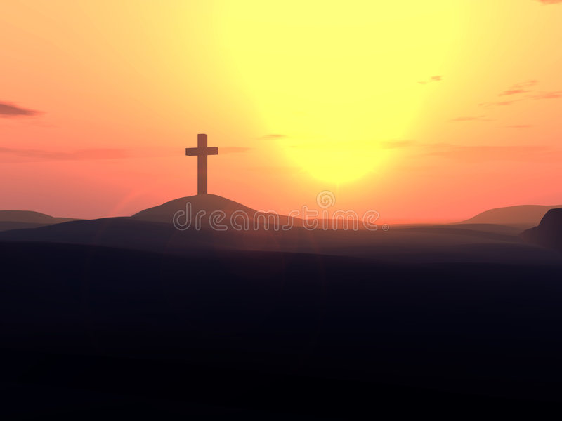 Das Kreuz 10 lizenzfreie stockbilder