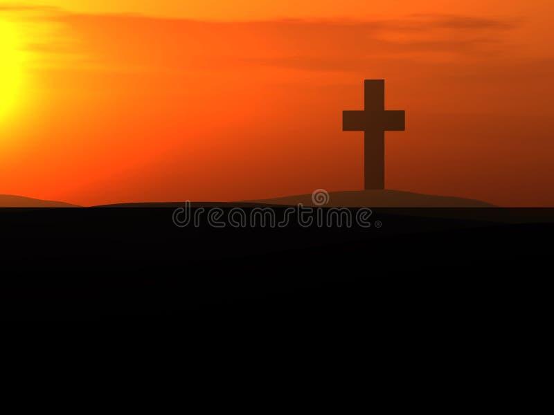 Das Kreuz 9 lizenzfreie stockfotos