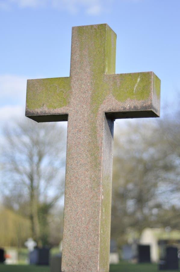Das Kreuz - ein Brunnen im Kloster eines Mannes, vom heiligen Wasser der Blendenöffnungsflüsse lizenzfreies stockbild