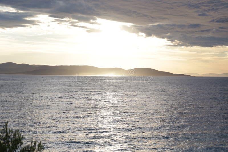 Das kroatische Meer lizenzfreies stockbild