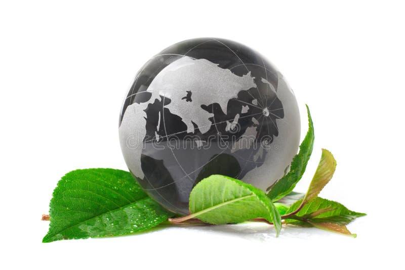 Das Kugelkonzept eco stockfotos