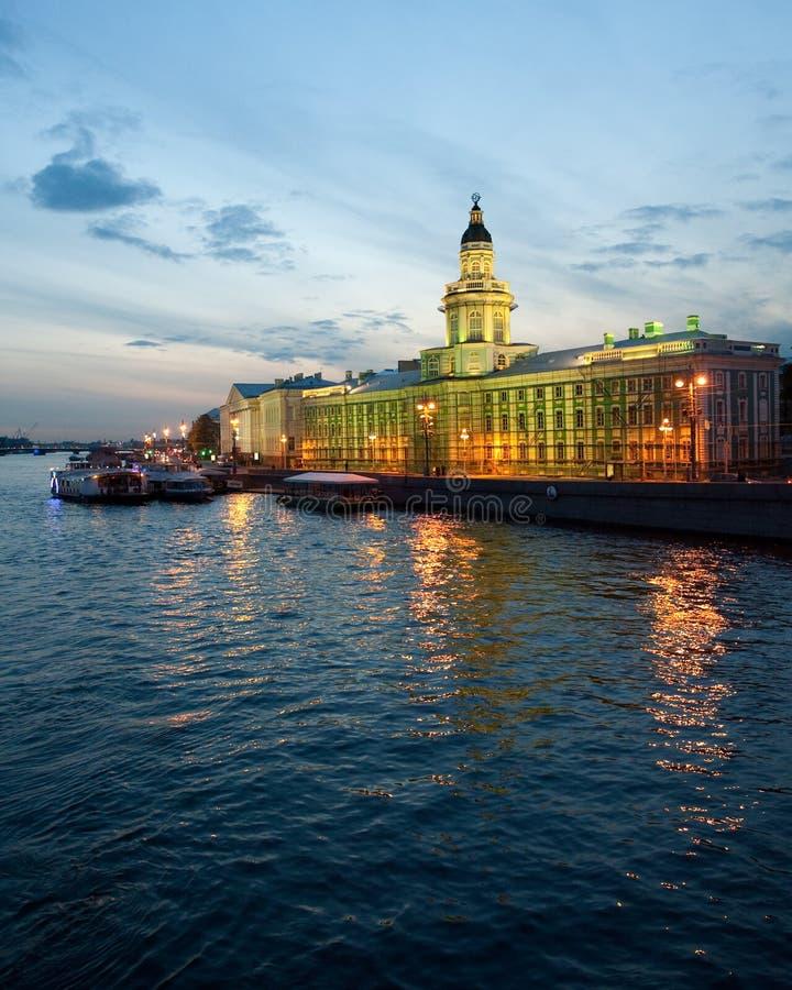 Das Kunstkamera von St Petersburg lizenzfreies stockbild