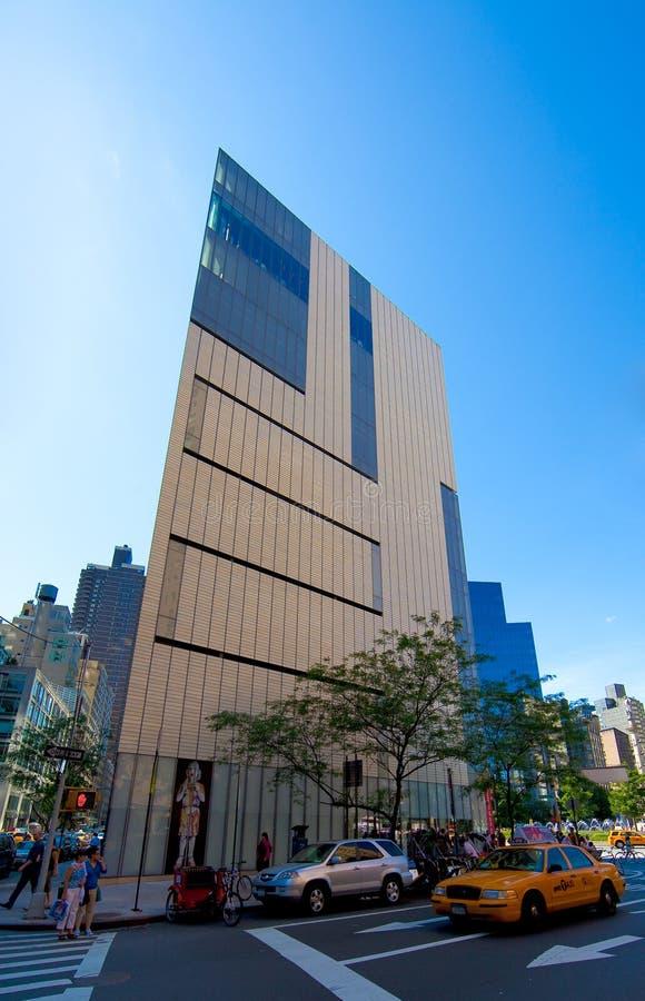 Das Kunstmuseum und die Auslegung (WÜTEND) in New York lizenzfreies stockfoto