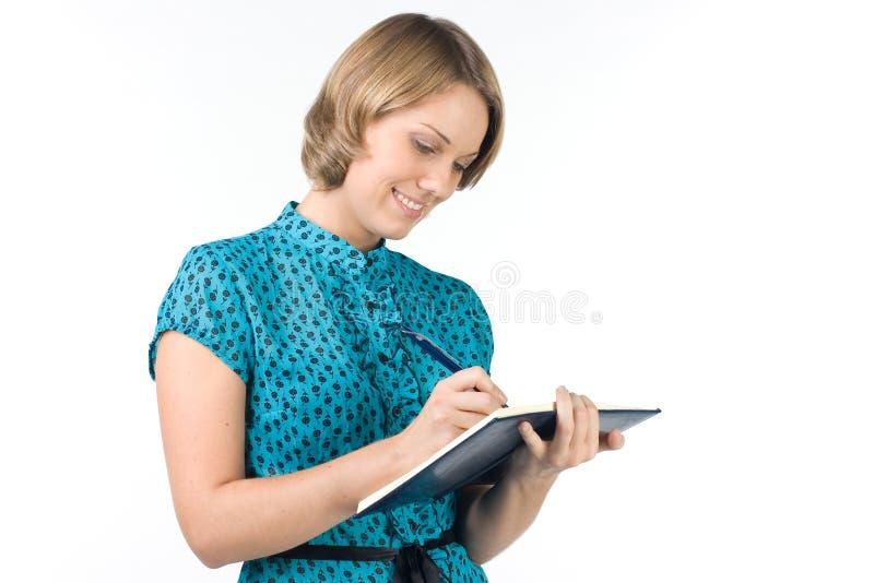 Das lächelnde Mädchen lizenzfreie stockfotografie
