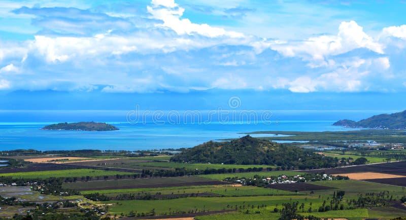 Das Land und die Landschaft stockfoto