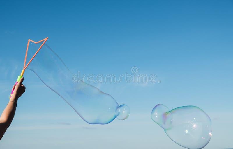 Das Leben der Blase ist schön kurz, aber lizenzfreies stockfoto