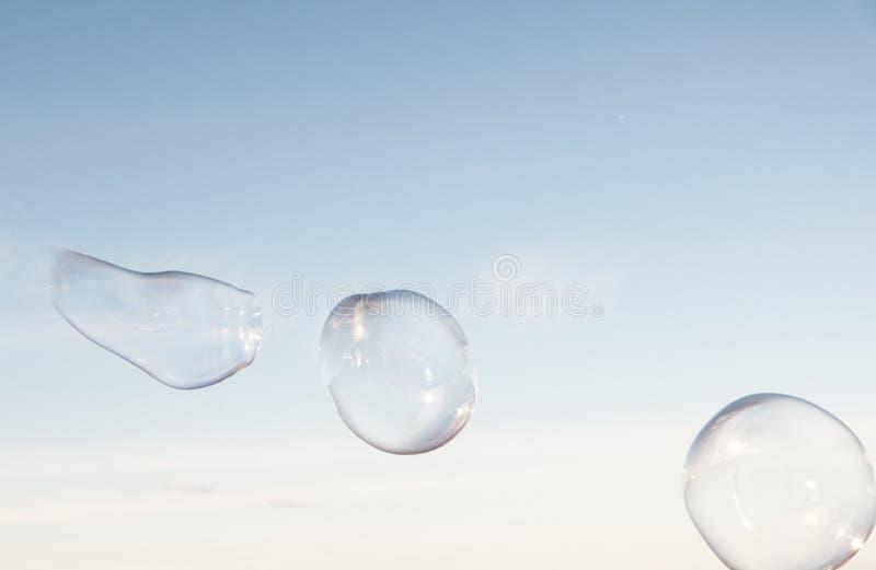 Das Leben der Blase ist schön kurz, aber stockfotografie
