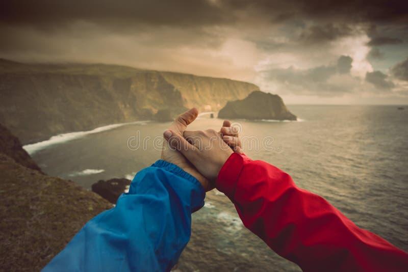 Das Leben ist zusammen besser stockbild