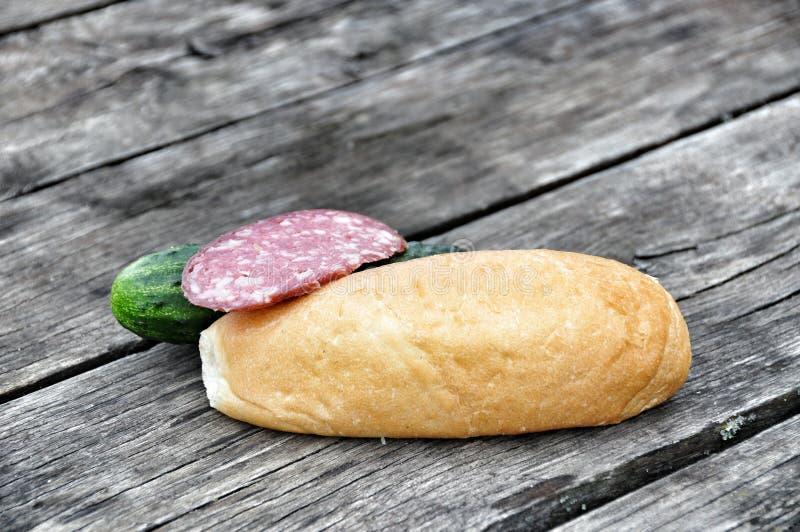Das Lebensmittel für das Picknick lizenzfreie stockbilder