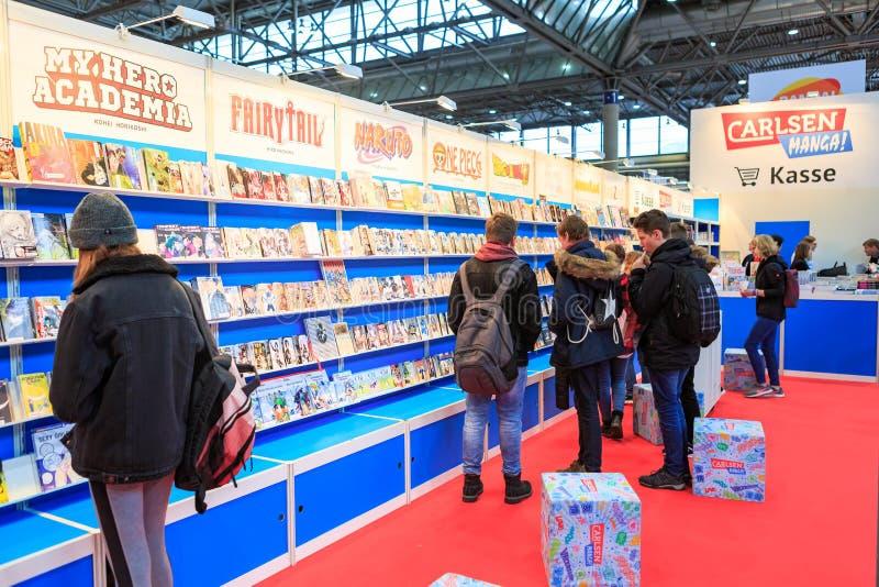 Das Leipziger Buchmesse stockfotografie