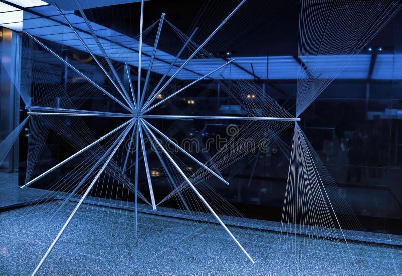 Das leuchtende --Allgemeine Kunst in Chicago stockfotos