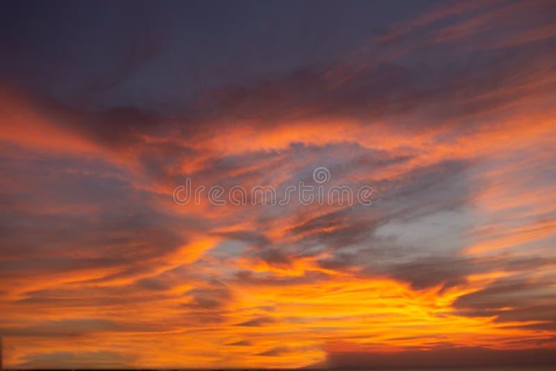Das Licht vom Himmel vom Himmelgeheimnis, in der goldenen Atmosphäre der Dämmerung, moderner Blattstrukturentwurf, neues Fahnen-G lizenzfreie stockfotos