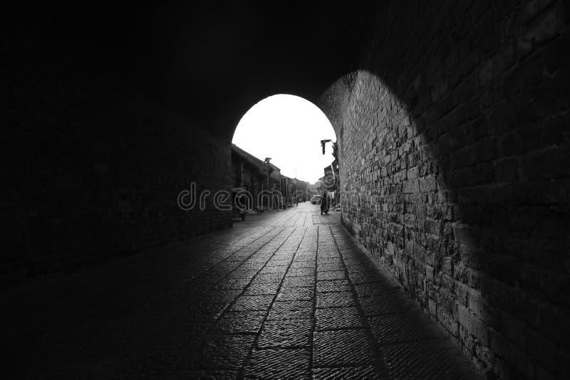 Das Licht von den Monumenten stockfotos