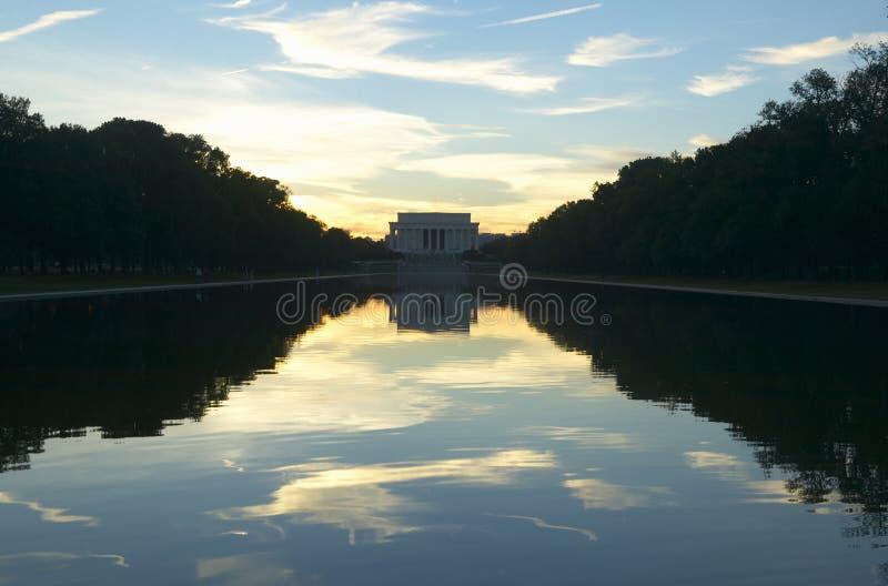 Das Lincoln-Denkmal lizenzfreie stockfotografie